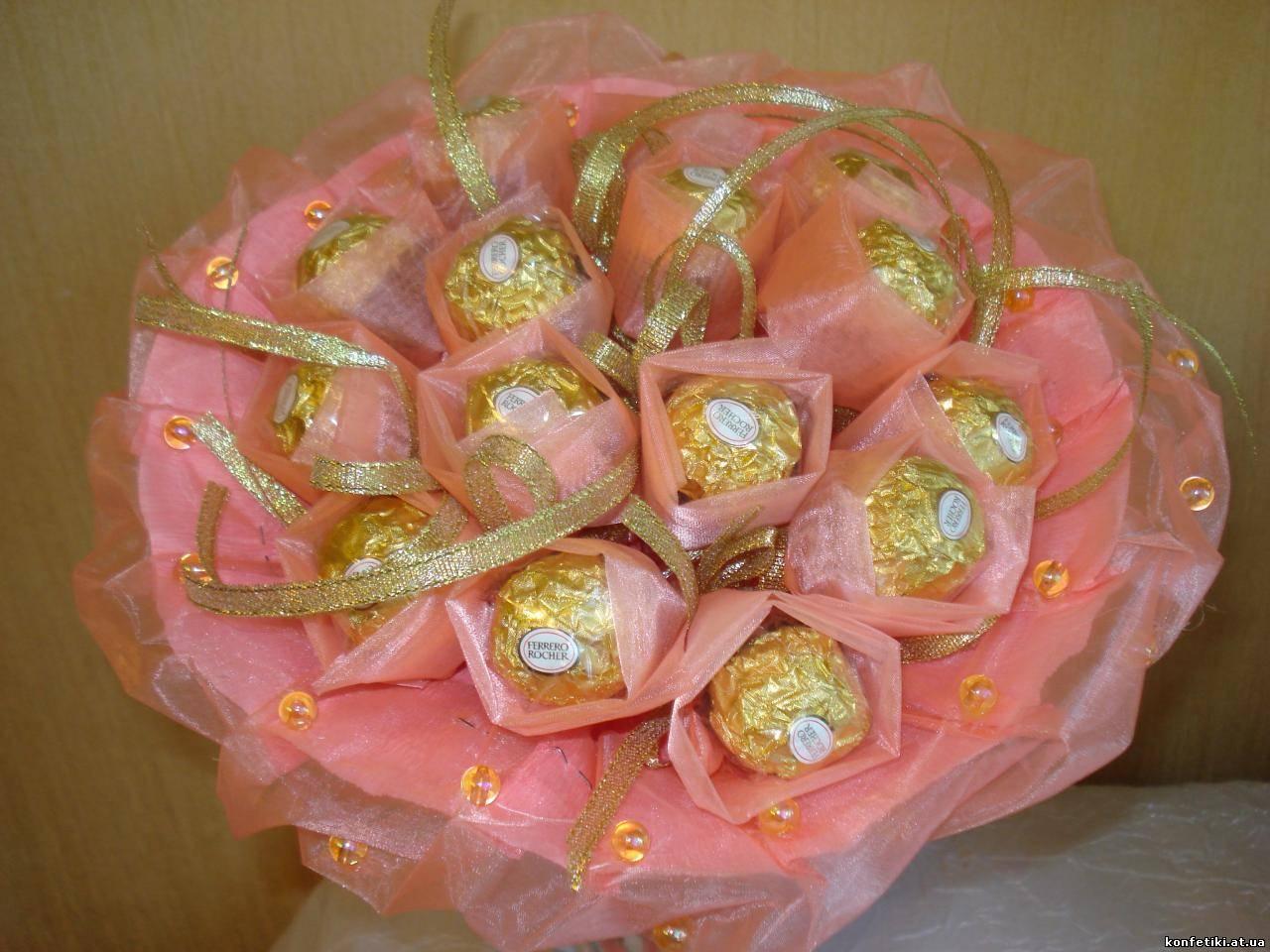 Букет из конфет своими руками: пошагово с фото - Мир Позитива 79